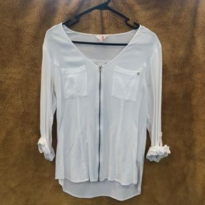 Long sleeve white shirt from GUESS